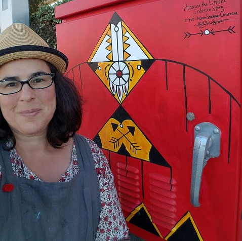norah-with-her-utility-box